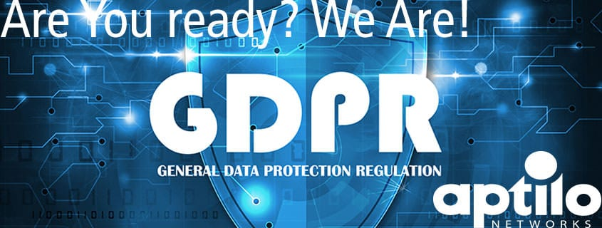 GDPR: Are You Ready? We are!
